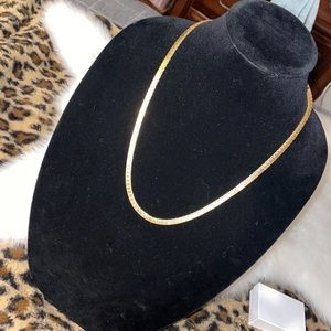 Money gold necklace